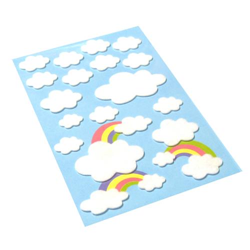 保定幼儿教师海绵纸剪贴画作品