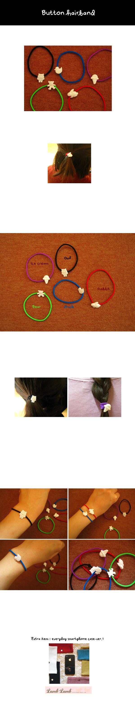 Button hairband ver.2  핀뱃지 - 램램, 1,500원, 헤어핀/밴드/끈, 헤어핀/끈