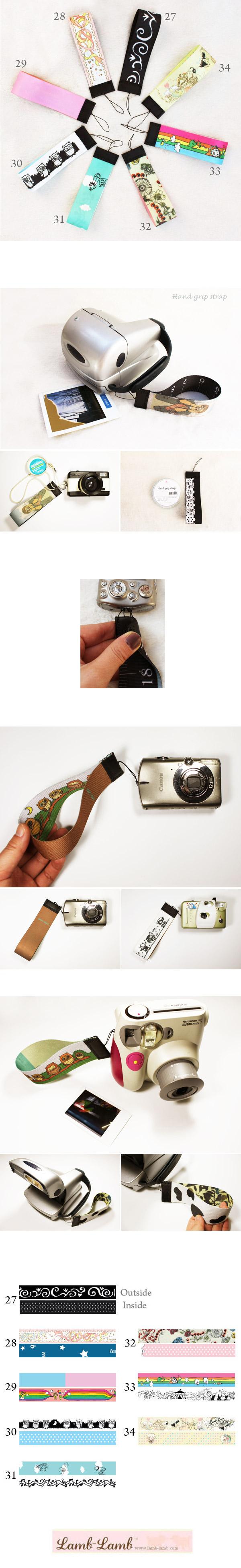 Hand grip strap 27-34 - 램램, 5,800원, 카메라 스트랩, 핸드스트랩