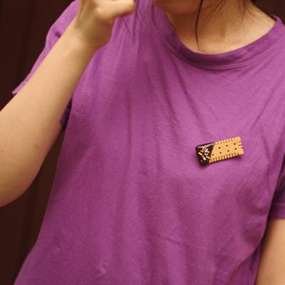 쵸코 쿠키 브로치 - 돈트잇, 4,000원, 브로치/뱃지, 뱃지