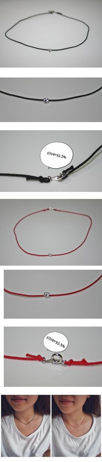 실크목걸이 - 오이수공예, 15,000원, 패션, 패션목걸이