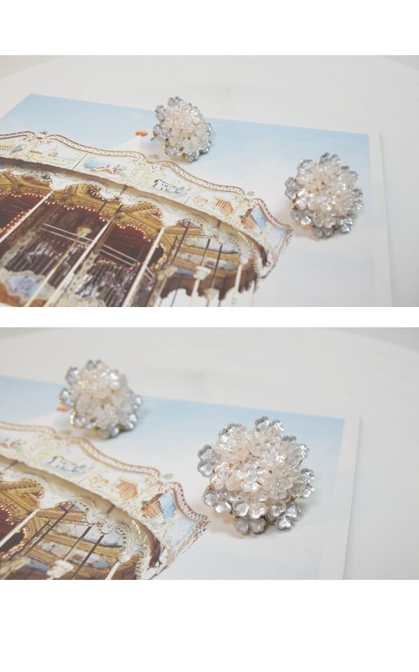 플뢰르 이어링 (자개) - 밀크티걸, 12,000원, 주얼리 DIY, 귀걸이