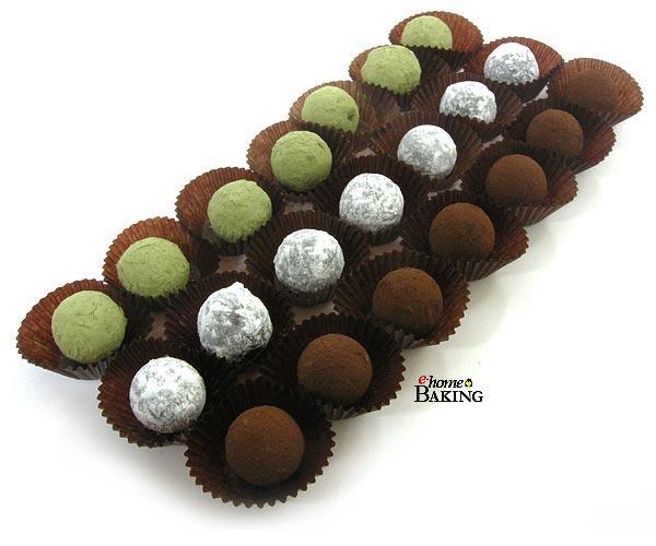 트러플쉘 화이트 (21구) - 이홈베이킹, 3,500원, DIY재료, 초콜릿/스틱