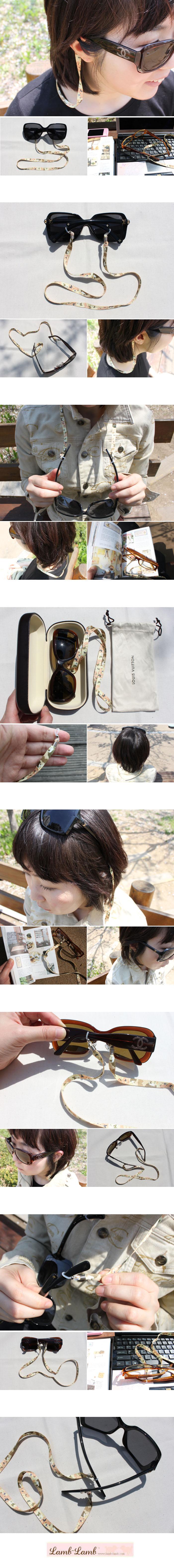 eyeglass strap -butterfly - 램램, 3,000원, 안경/선글라스, 안경