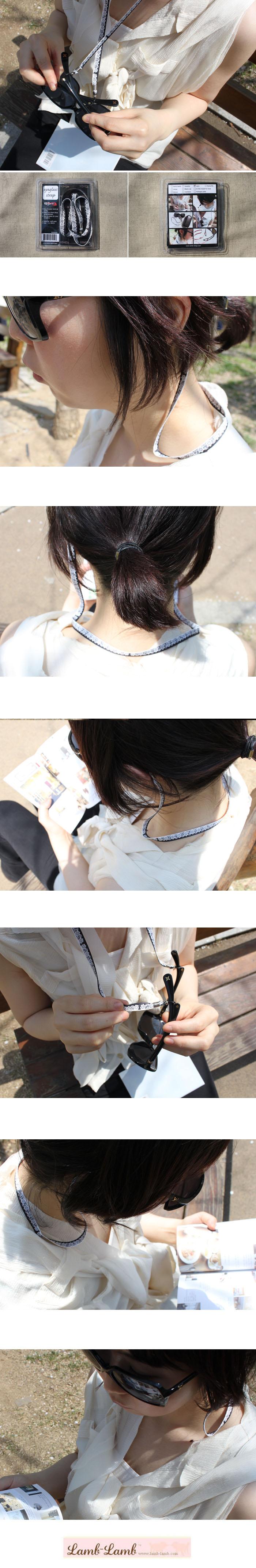 eyeglass strap -lace - 램램, 3,000원, 안경/선글라스, 안경