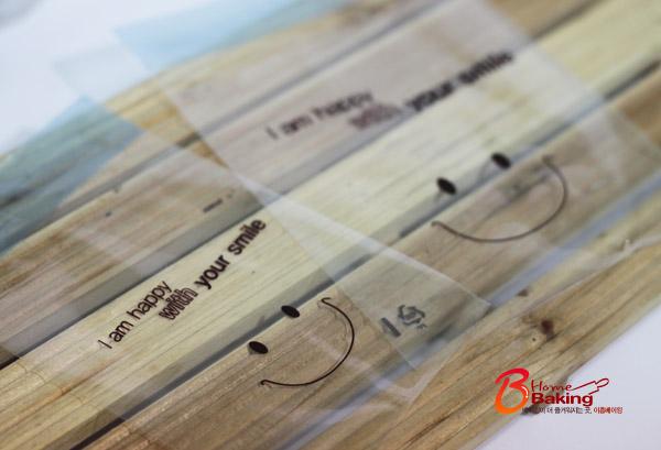 접착opp 스마일봉투30장 - 이홈베이킹, 1,000원, DIY재료, 포장용구