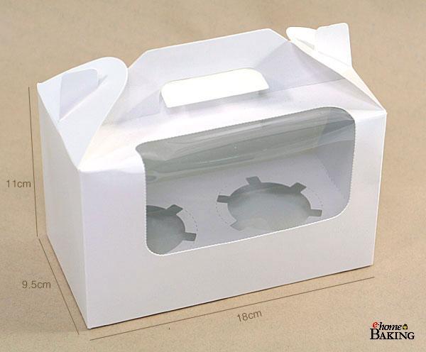 컵케익 머핀2구 창박스 - 이홈베이킹, 1,000원, DIY재료, 포장용구